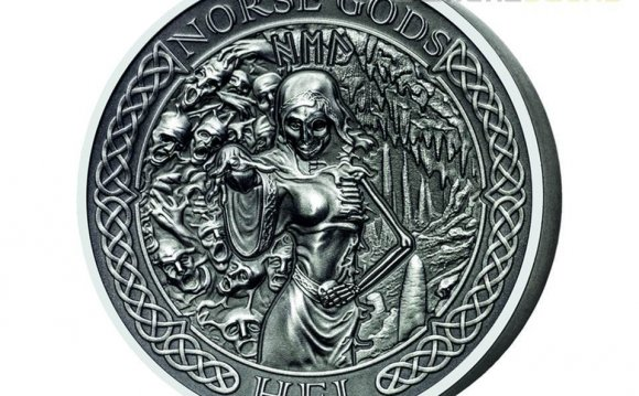 10 $ Dollar Norse Gods - Hel Ultra High Relief Cook Islands 2 oz