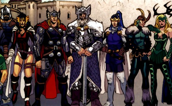 DC Greek Pantheon vs MU Norse Patheon - Battles - Comic Vine