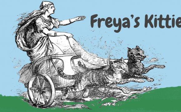 Freya s Kitties: Cats in Norse Mythology - Playful Kitty
