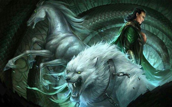 Narfi and Nari sons of Loki   Mythology & Fantasy!!   Pinterest