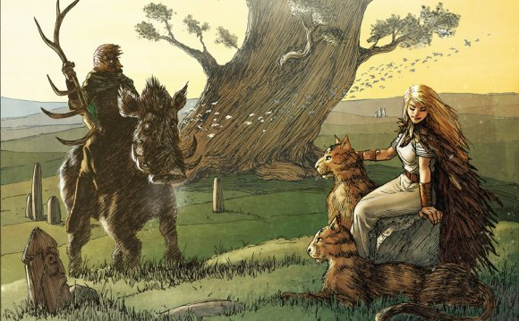 Norse goddesses freya