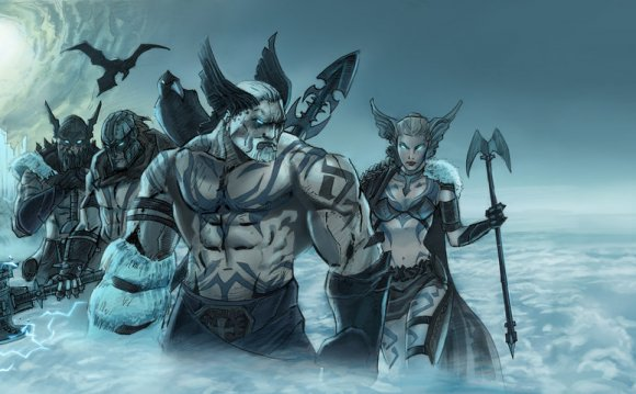 There are two groups of Norse gods, the Aesir and Vanir. There is