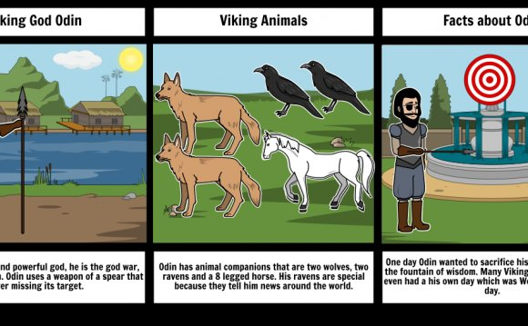 Viking God Odin Storyboard by mreay6