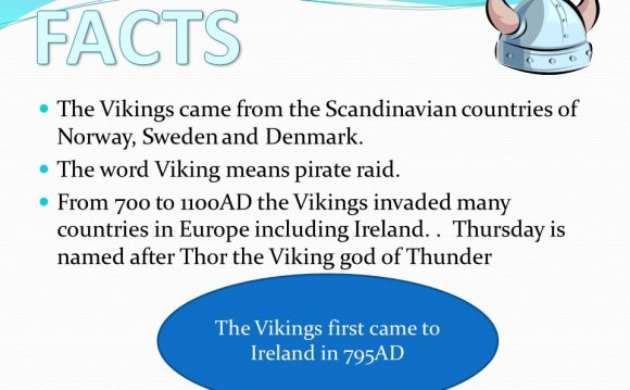 Vikings By Katy Hynes. The Vikings came from the Scandinavian