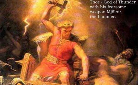 Norse god of lightning