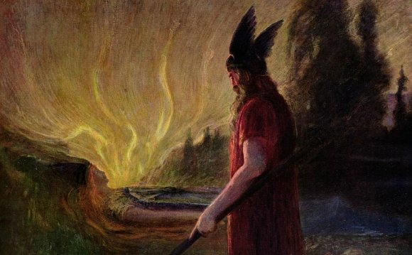pictures of Odin the viking god
