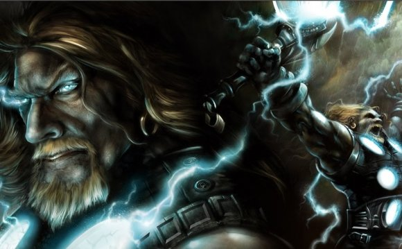 Thor the norse god of thunder