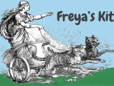 Freyja the viking god