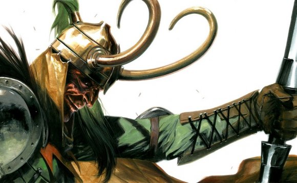 Loki the viking god